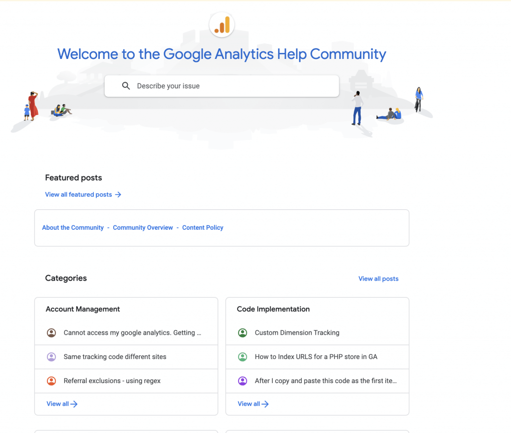 Ayuda Google Analytics